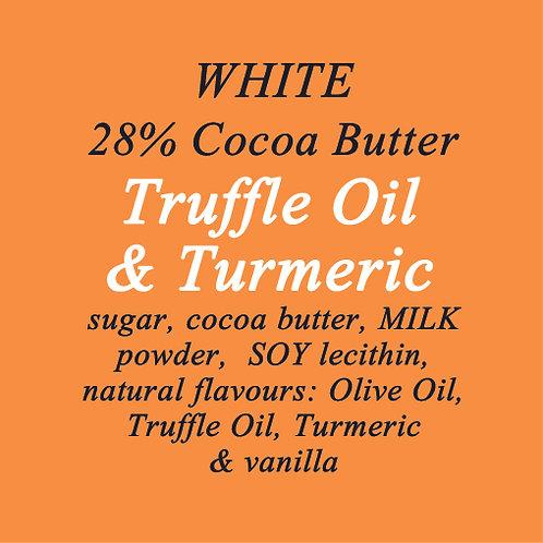 Turmeric & Truffle Oil White Chocolate