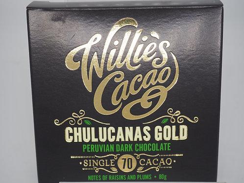 WILLIE'S CACAO Peru dark 70% cocoa