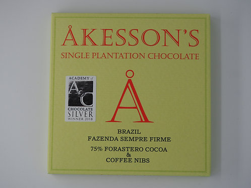AKESSON Brazil 75% cocoa and nibs