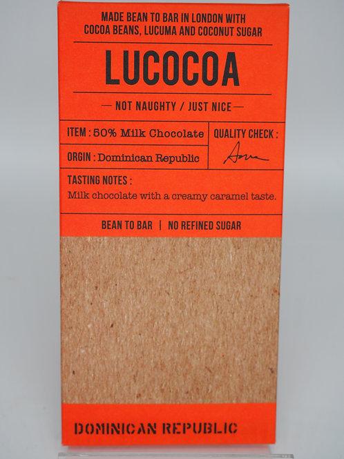 LUCOCOA Dominica milk 50% cocoa