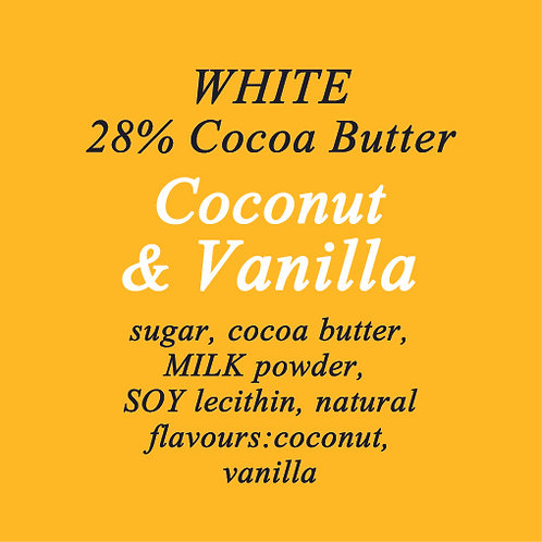 Coconut & Vanilla White Chocolate