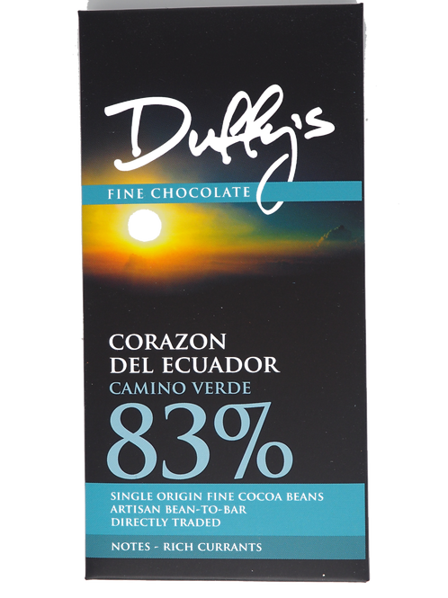 DUFFY'S Ecuador dark 83% cocoa