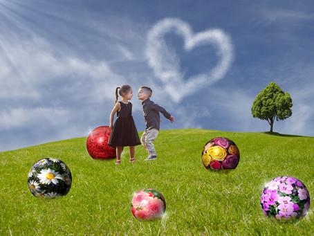 EN AMOUR, CONSERVEZ VOTRE COEUR D'ENFANT DANS L'ADULTE MATURE ET RESPONSABLE QUE VOUS ÊTES !