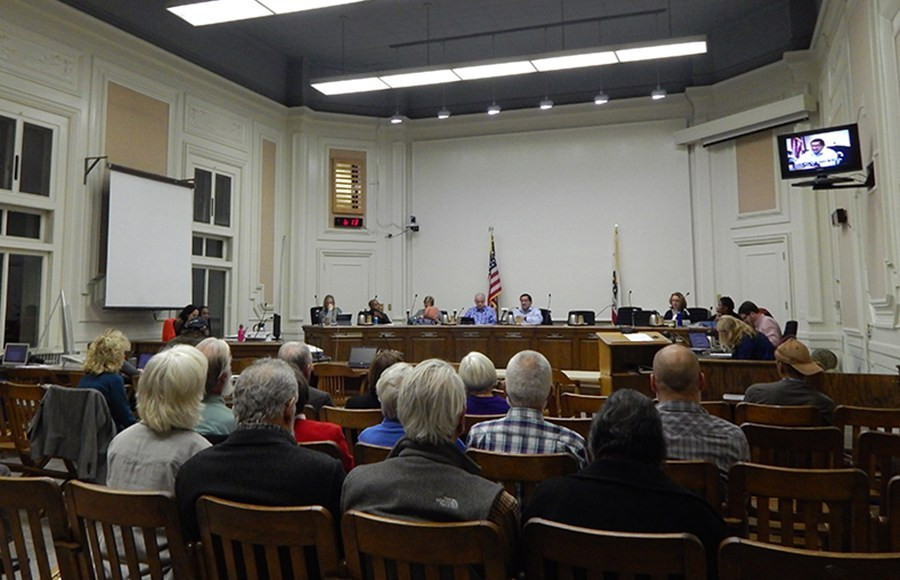Berkeley City Council meets to pass the Small Sites Program 11/27/17.