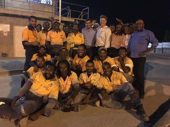 CQT visit PNG