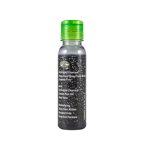 Activated Charcoal Deep Pore Detox Face Wash - Sulphate Free