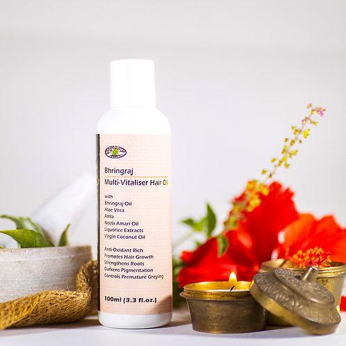 Bhringraj Multi-Vitaliser Hair Oil