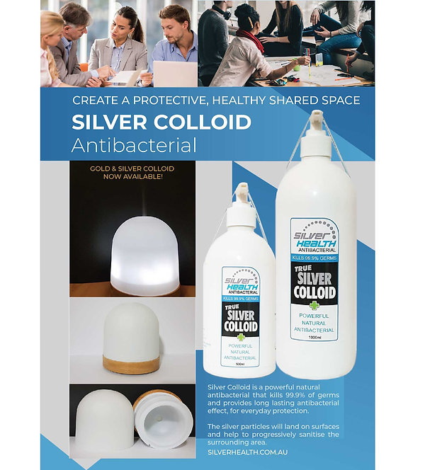 Silver Health Silver Colloid Ultrasonic
