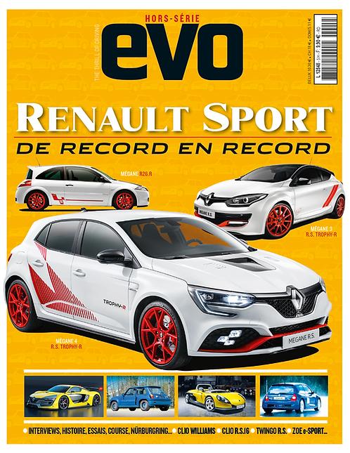 EVO Hors série Renault Sport : De record en record