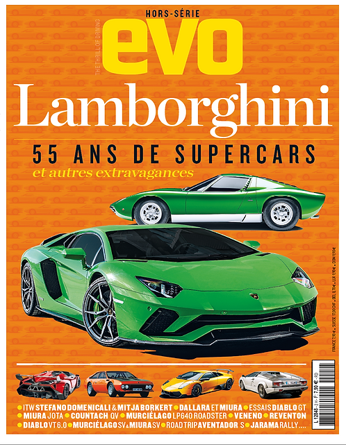 """Hors Série EVO Lamborghini """"70 ans de V12"""""""