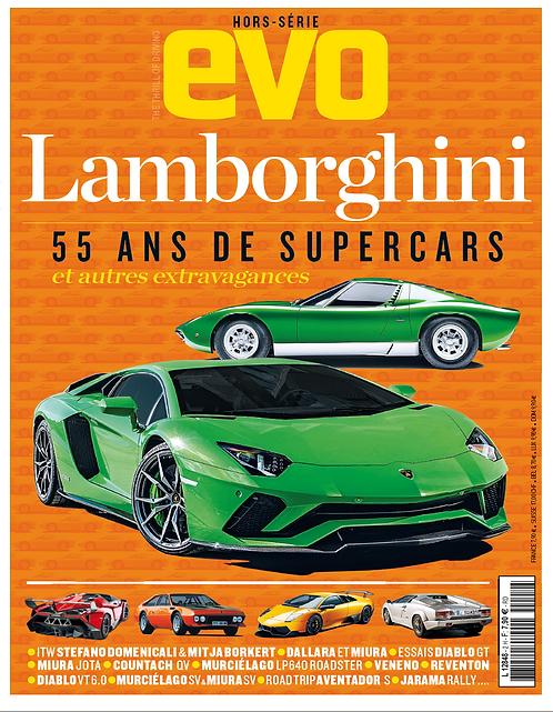"e-book EVO hors série ""Lamborghini"""