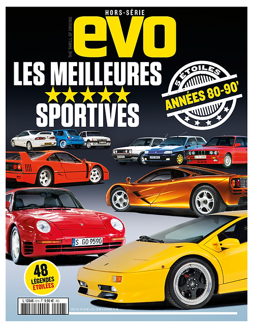 "EVO Hors série""Les meilleures sportives"" années 80-90"