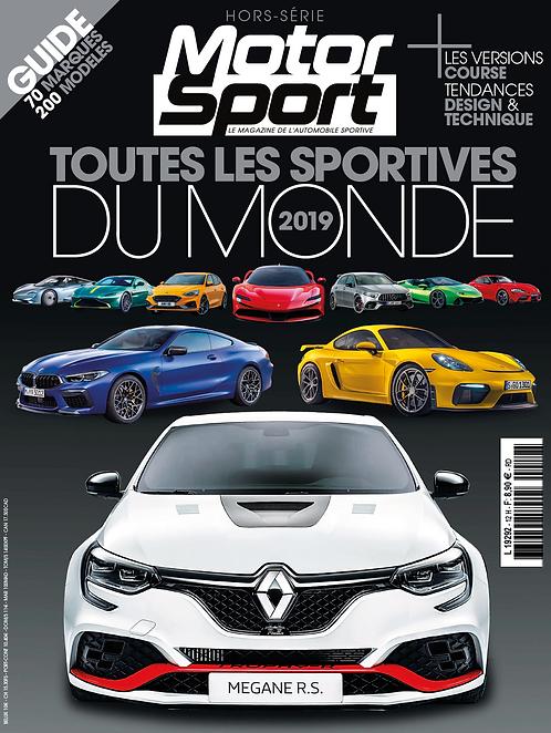 Hors Série Motorsport Toutes les Sportives du Monde 2019