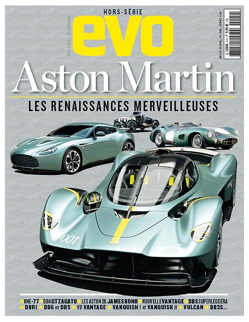 "Hors Série EVO Aston Martin ""Les renaissances Merveilleuses"""