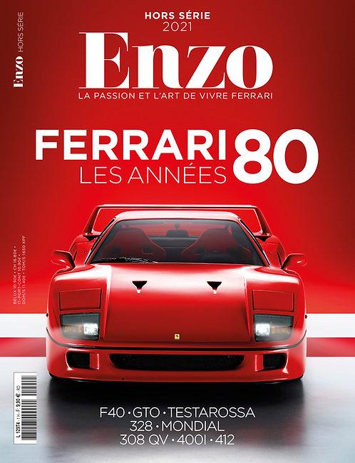 """ENZO Hors Série """"Les Ferrari des années 80"""""""