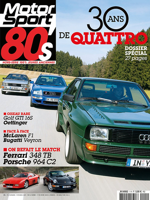 Hors série Motorsport 80's