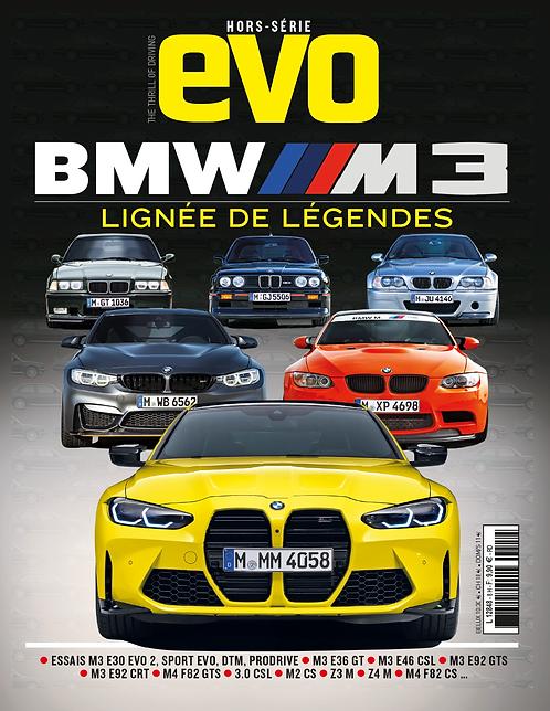 """EVO Hors série """"BMW M3, lignée de légendes"""""""