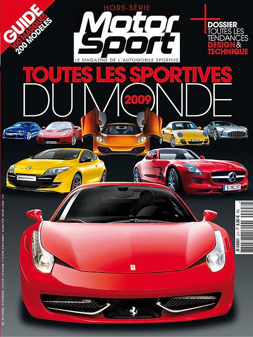 Hors Série Motorsport Toutes les Sportives du Monde 2009