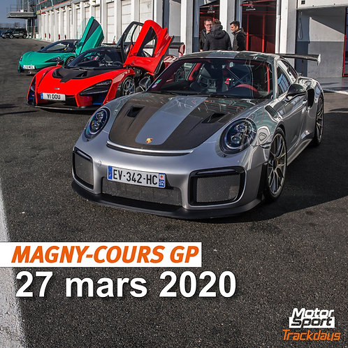 Trackday Magny-Cours GP 27/03/2020