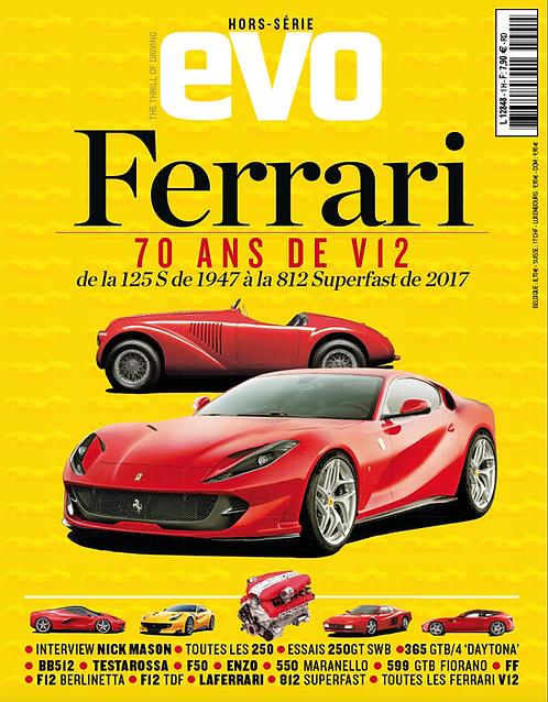 """Hors Série EVO Ferrari """"70 ans de V12"""""""