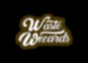 Waste Wizard_Wordmark_Brown_Transparent_