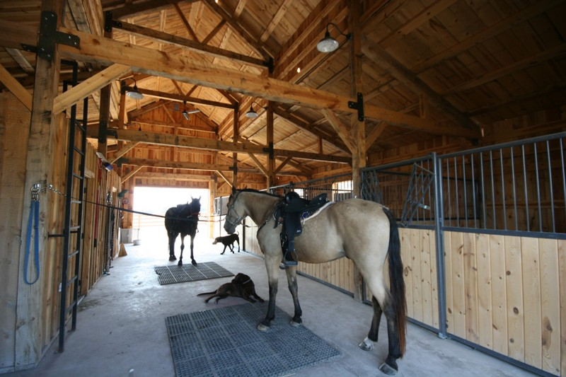 The Landing Pierce Barn Interior