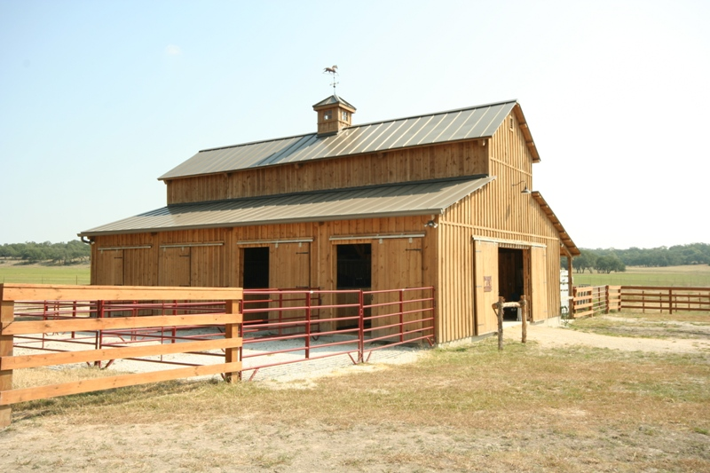 Pierce Barn Exterior