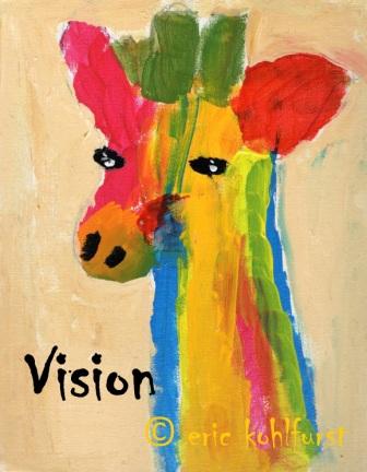 Giraffe ... Vision