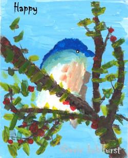 Bluebird ... Happy