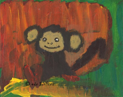 Monkey ... Curious