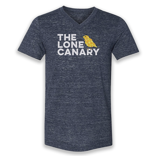 The Lone Canary | Navy V-Neck