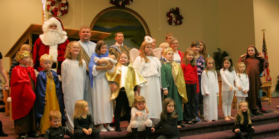 Denham Street Baptist Church's 2018 Christmas Play