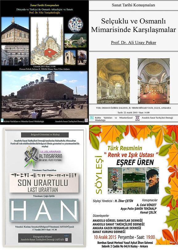 Anadolu Sanat Tarihçileri Derneği Etkinlikleri