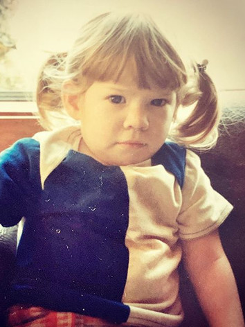 My mean-mugging face as a child 🤣 I was
