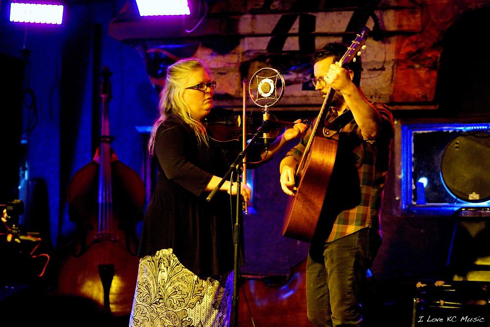 John Greiner and Betse Ellis - Photo by Kimmy DeVries