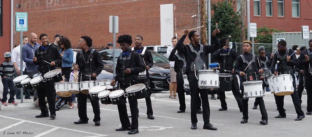 Drum Line - Photo by Kimmy DeVries