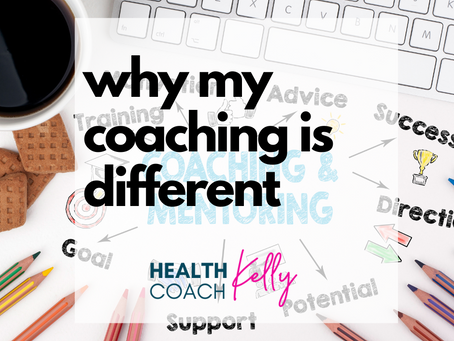 WHY MY COACHING IS DIFFERENT.