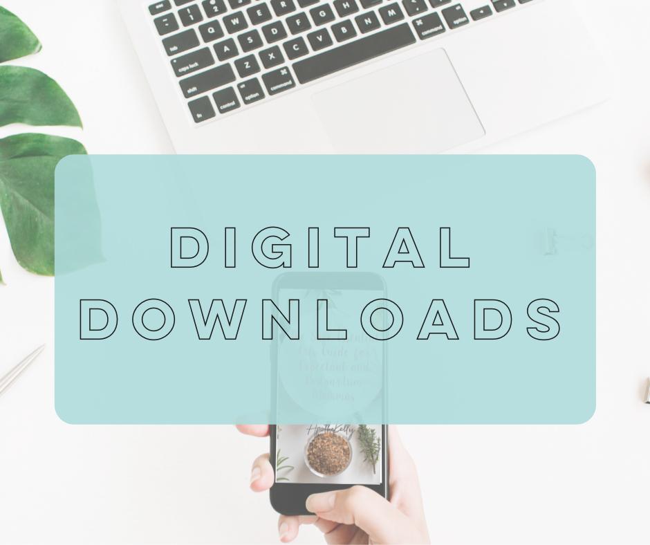 ApotheKelly Wellness Digital Downloads