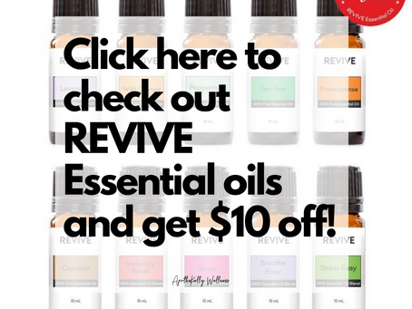 Revive Essential Oils – Making the switch from Young Living and doTerra
