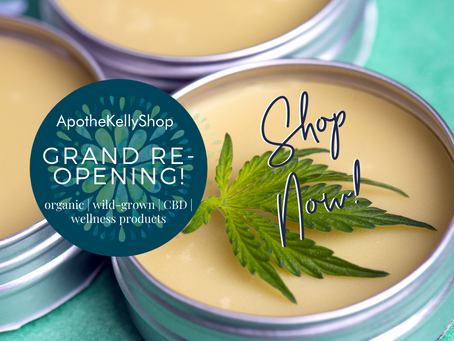 It's the GRAND re-Opening of ApotheKelly Shop!