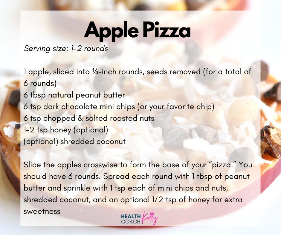 Gluten Free Apple Pizza