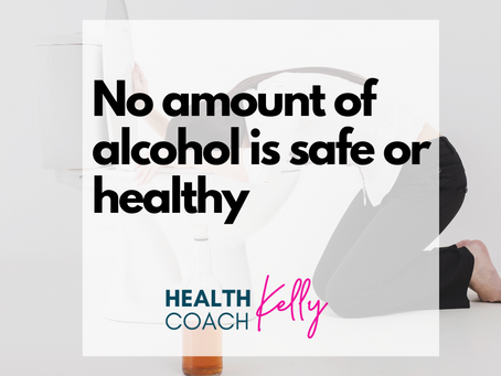 No amount of alcohol is safe or healthy