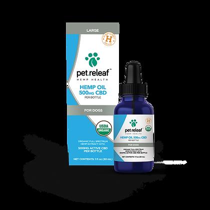 Pet Releaf Hemp Oil 500mg CBD
