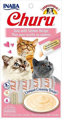 Inaba Churu Puree Tuna with Salmon