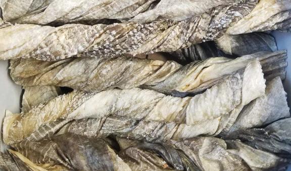 Tickled Pet Codfish Skin Roll Singles