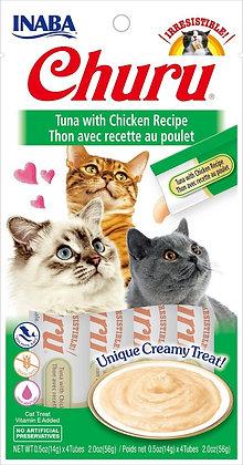 Inaba Churu Puree Tuna with Chicken
