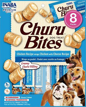 Inaba Churu Bites Chicken with Cheese for Dogs