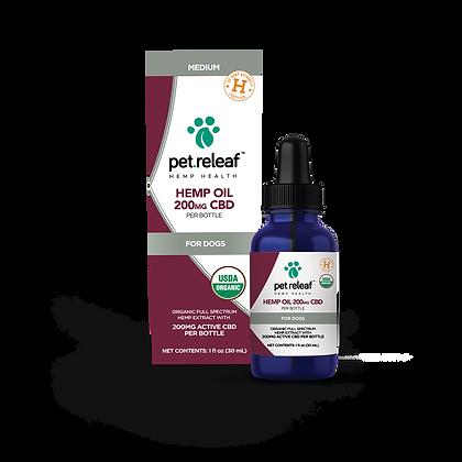 Pet Releaf Hemp Oil 200mg CBD