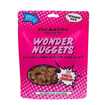 Polka Dog Wonder Nuggets Turkey & Cranberry 12oz
