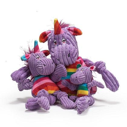 HuggleHounds Knottie Rainbow Unicorn